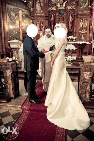 Suknia ślubna Gala + buty+ narzutka/plaszczyk