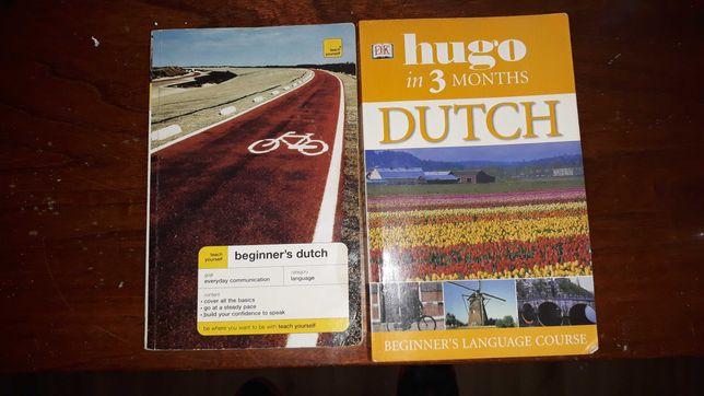Ksiazki Niderlandzki  Dutch in 3 month oraz Begginers Dutch