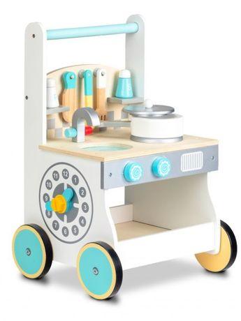 Drewniany Pchacz Chodzik Kuchnia dla Dzieci ZDR1037