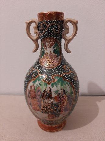 Guarda jóias antigo pintado à mão Aveiro jarra satsuma