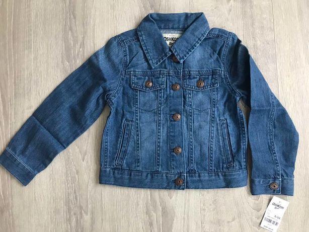 Джинсовая куртка для девочки OshKosh Carters 5-6 лет