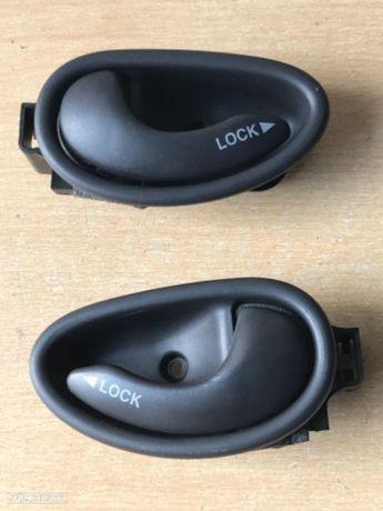 Puxadores das Portas Interior Fiat Doblo de 04 a 09
