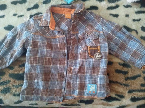 Рубашечка на новорожденного