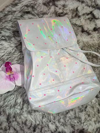 Очень класный перламутровый рюкзак
