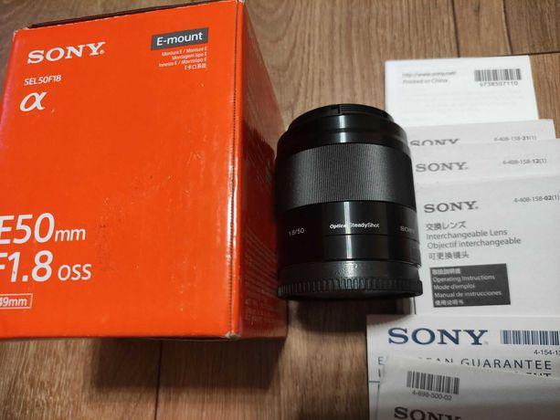 Sony E 50 mm f/1.8 OSS (SEL50F18). БЕЗ передоплати!