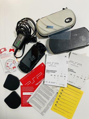 Consola Sony PSP 1004 + jogos + extras