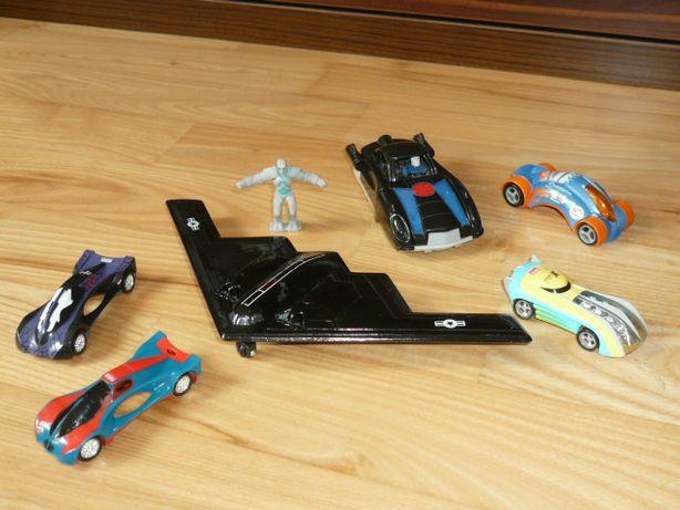 Samochodziki Marvel, wyścigowe, samolot z napędem