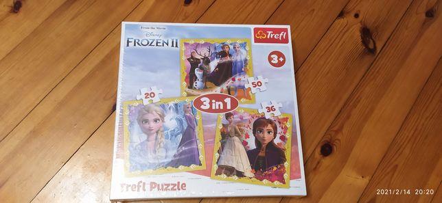 Puzzle Frozen - nowe