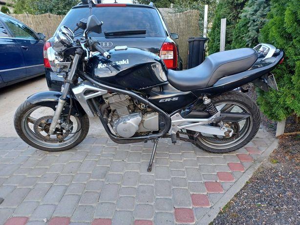 Motocykl  Kawasaki Er5