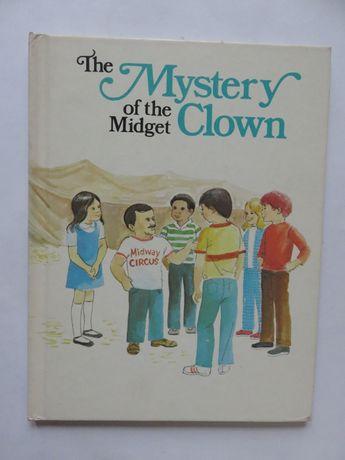 The Mystery of the Midget Clown. Książka dla dzieci w j.ang.