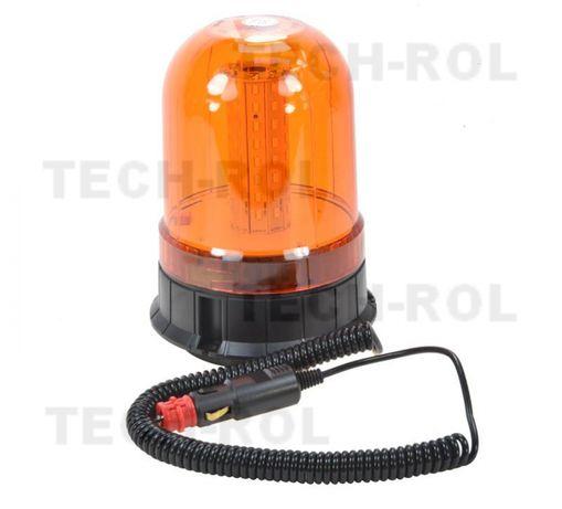 Lampa błyskowa diodowa na magnes, 12V/24V Kogut