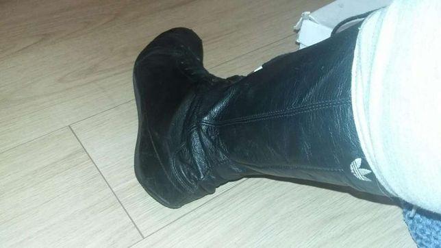 Женские демисезонные ботинки адидас(боксерки)