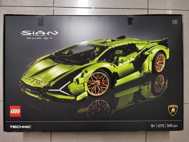 LEGO Technic 42115 Lamborghini Sián FKP 37 ( SELADO/ NOVO )