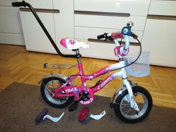 "Rowerek 12 "" cali + prowadnik"