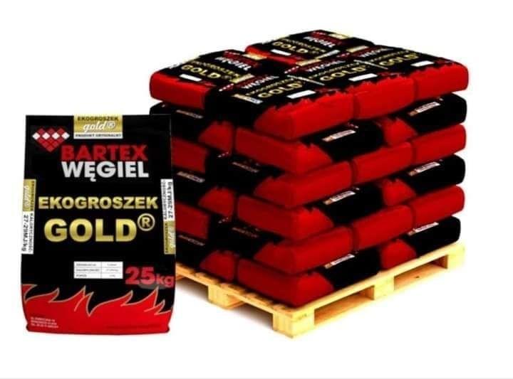 EKOGROSZEK Bartex GOLD Kamienny Węgiel Wysokoenergetyczny Workowany Kartuzy - image 1