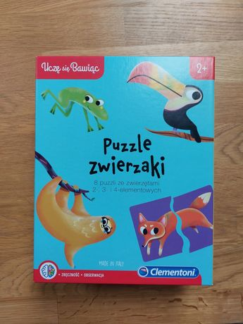 Puzzle Zwierzaki Clementoni 2+