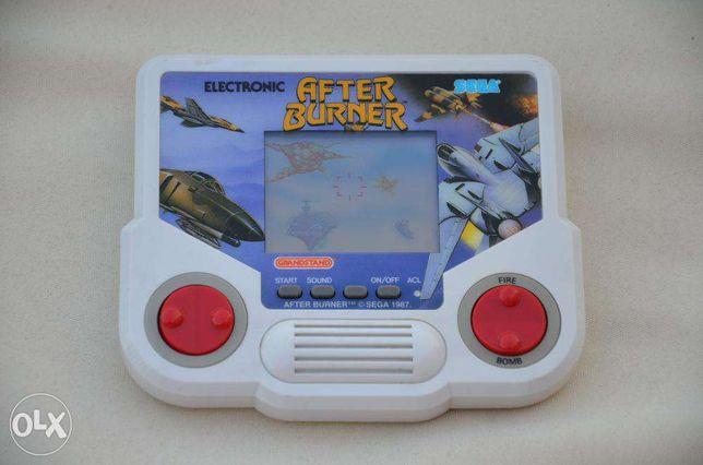 Jogo eletrónico Tiger Sega After Burner LCD retro vintage