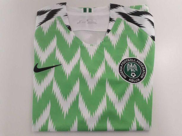 Equipamento (Camisola) Nike Oficial da Seleção da Nigéria Mundial 2018