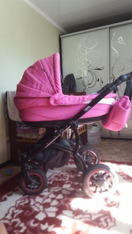 коляска для девочки 2 в 1 ,adamex york