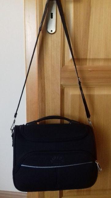 "kuferek podróżny, czarny ""Airtex Paris"