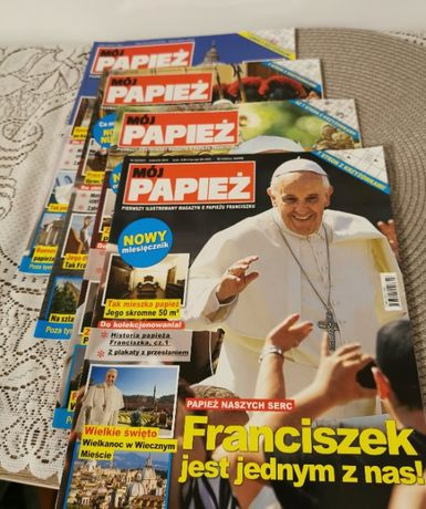 Mój papież - kompletne czasopisma