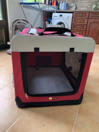 Transportadora/Casota de férias para cão ou para treino