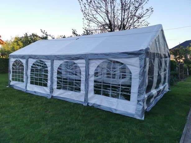 Wynajem namiotu 4x8 wraz z oświetleniem
