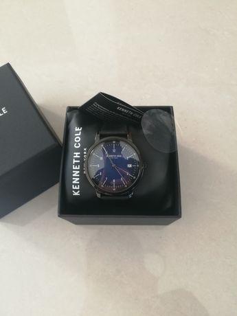 Relógio de quartzo de couro - kenneth cole new york