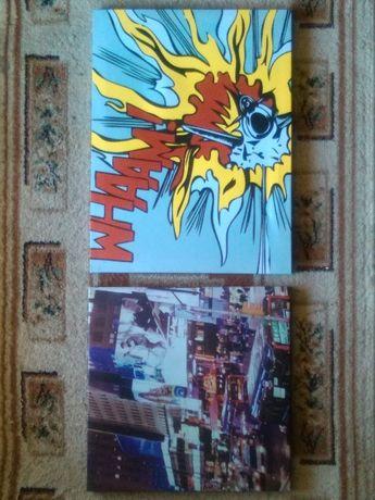 Obrazki na ścianę do młodzieżowego pokoju lub dziecka Anima i Londyn