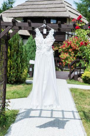 Śliczna suknia ślubna al'a MARCIE ANNA KARA