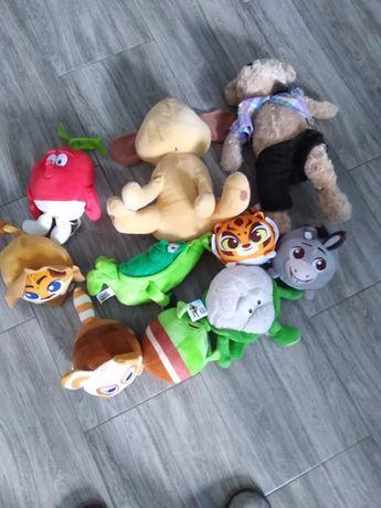 Pluszaki zabawki różne