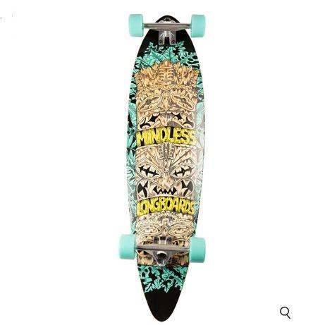 Skateboard - Longboard completo como novo!