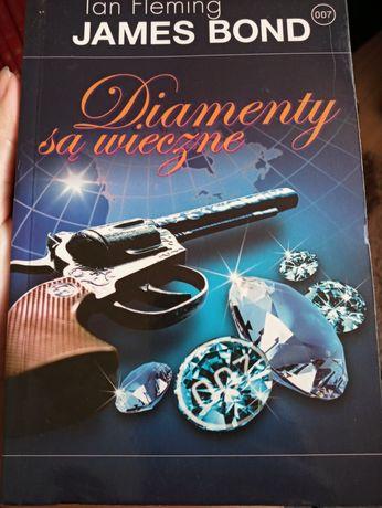 """Książka Ian Fleming """" Diamenty sa wieczne"""" seria James Bond"""