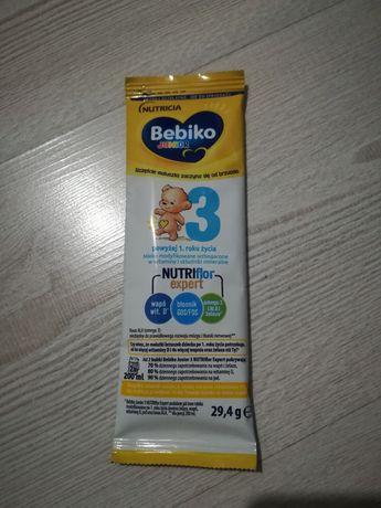 Mleko  bebiko próbki