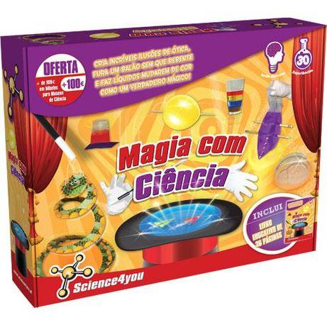 MAGIA com Ciência - Science4you - Novo / Intacto / Selado