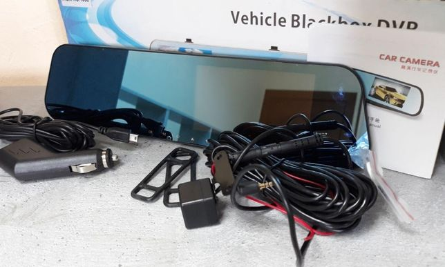 Видеорегистратор Зеркало заднего вида на 2 камеры BLАСKBОХ DVR Full НD