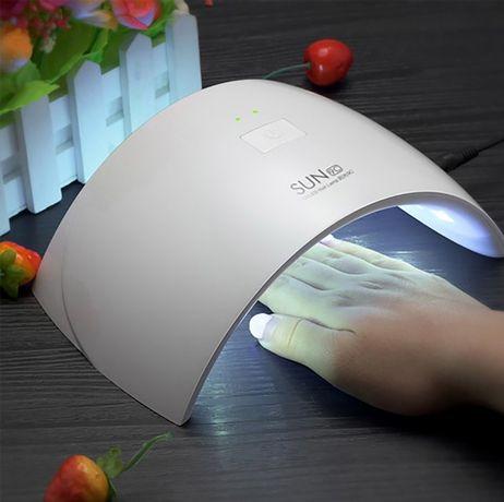 Мощная лампа для гель лака Сушка лаков / Покрытие ногтей LED лед лампа
