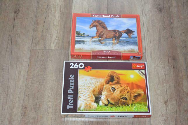 Puzzle ze zwierzętami