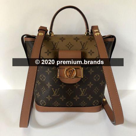 Plecak Louis Vuitton Dauphine Backpack PM Reverse Monogram/skóra nat