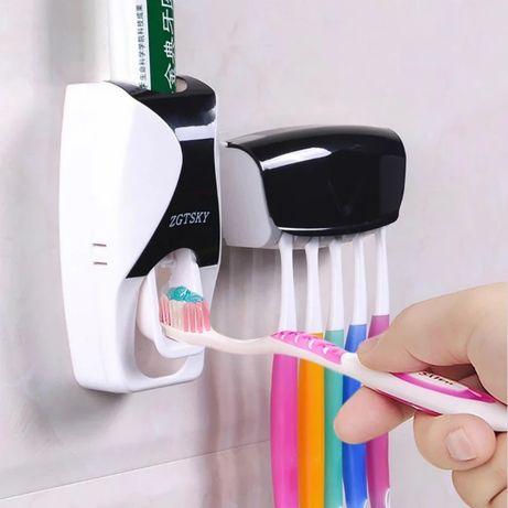 Дозатор зубной пасты и держатель зубных щеток