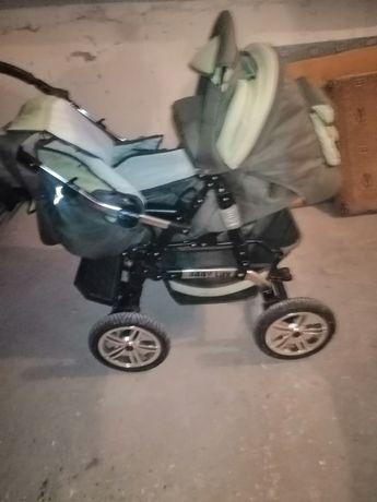 Wózek 2w 1 Baby Lux Zielony itp
