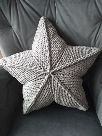 Poduszka gwiazda handmade