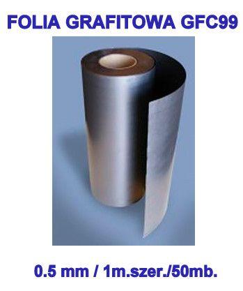 Folia Grafitowa GFC99 Promieniowanie Rentgenowskie