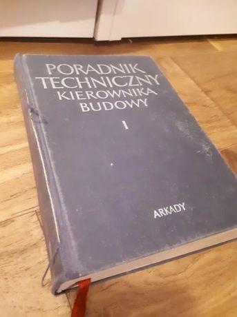 ZESTAW 2 TOMÓW - Poradnik techniczny kierownika budowy - Arkady 1970