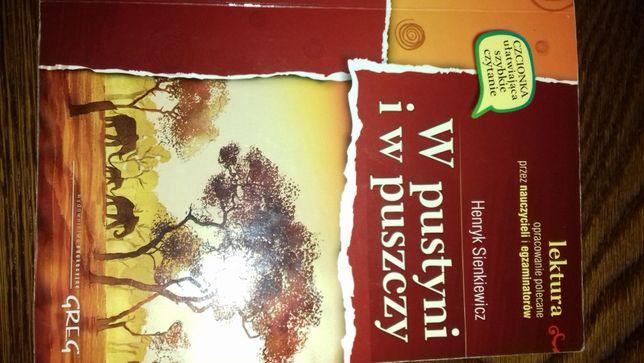 Ksiązki - Lektury W pustyni i wpuszczy
