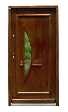 Drzwi z drewna 100 x 210 - różne modele