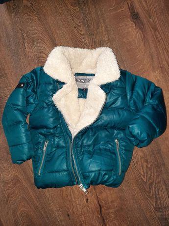 Демисезонная куртка косуха tony boy zara next