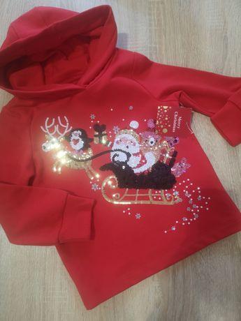 Худи F&F Happy Santa 104-110 4-5 лет
