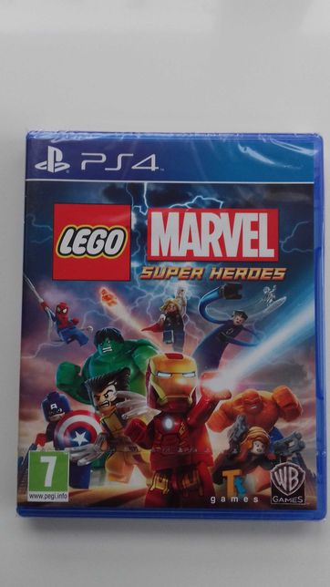Ps4 Lego Marvel Super Heroes Pl Nowa w folii