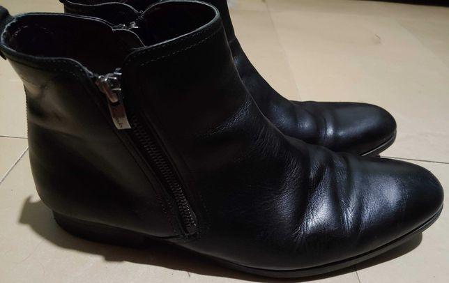 ботинки Clarks 43р. 27,5см нат. кожа, демисезон